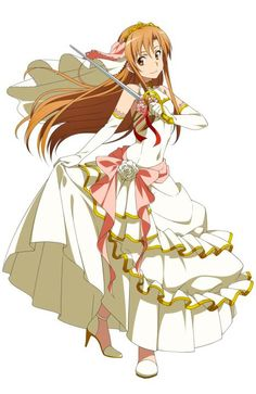 Character design by Shingo Adachi for the Sword Art Online anime. Asuna in Sword Art Online: Infinity Moment. Anime Neko, Kawaii Anime, Manga Anime, Sao Anime, Sword Art Online Asuna, Arte Online, Online Art, Noragami, Desenhos Love