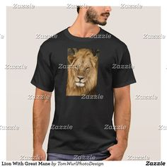 Lion With Great Mane T-Shirt
