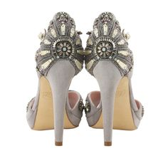 Gatsby inspired shoes - fabulous