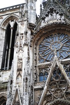 While traveling in Europe, I never got tired of going in and strolling through the gothic cathedrals.