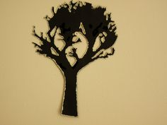 Various props Silhouettes - Decorazioni varie by DropsofBrightness on Etsy Silhouettes, Halloween Decorations, Buy And Sell, Clock, Handmade, Stuff To Buy, Etsy, Hand Made, Watch
