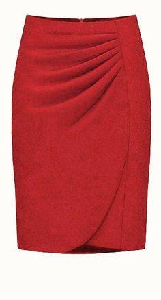 faldas de moda - Buscar con Google                                                                                                                                                      Más
