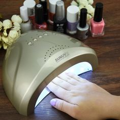 Stunning SUNUV Sunone W Professional Nail Lmap UV Lamp Nail Dryer for UV Gel LED Gel Nail