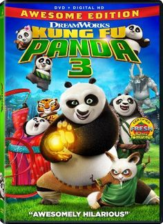 Kung Fu Panda 3 (DVD). Click on the cover to see if the movie is available at Freeport Community Library.