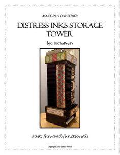 Distress Inks Storage Tower Tutorial