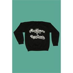 Macklemore and Ryan Lewis Crewneck Sweatshirt