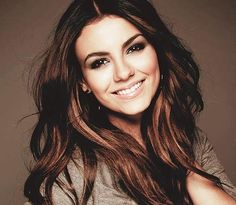 long brown hair with highlights underneath and not right on top- January this would look good!