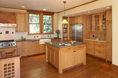 I LOVE this kitchen! Kieth Ave - craftsman - Kitchen - San Francisco - Greenfield Building & Remodeling