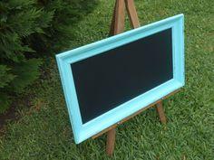 Frame Chalkboard-Chalkboard-Coastal Blue Framed by AtticJoys1