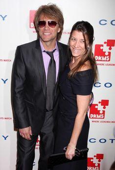 Jon Bon Jovi and his wife Dorothea Hurley