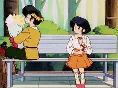 Ryoga Hibiki and Akane Gif.  io nel anime di rannma mi ero innamorata del protagonista ovvero ranma sautome in seguito mi innamorai anche di ryoga  e poi in seguito di mus