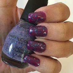 Second Sinfulcolors top coat of the day: Petal Be The Day!  Segundo Sinfulcolors do dia: Petal Be The Day! #fashion #esmalte #unhadodia #unhasdasemana #unhas #notd #nails #nailpolish #esmaltedodia #topcoat #summernails #sinfulcolors