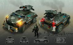 Assault Vehicle by kianchai.deviantart.com on @deviantART
