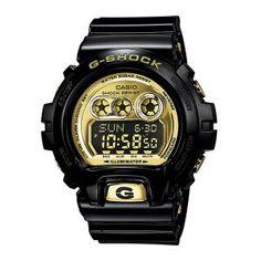 Reloj #Casio #GShock #negro y #dorado