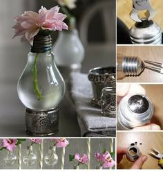 Recycle Light Bulbs Planters | DIY & Crafts Tutorials