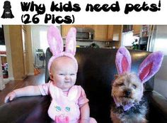 Why kids need pets ( 26 Pics)!