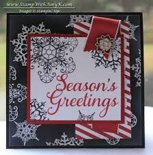 Image result for snowflake soiree stampin up card