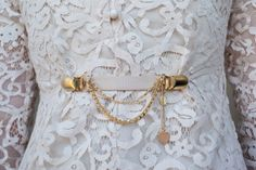 80's Clothes Clasp With a Romantic Twist from Netaly Shany Jewelry & Accessories by DaWanda.com