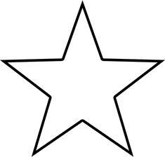 star template for day 1 preschool craft vbs 2015 pinterest rh pinterest com clipart of starburst clip art of stars and moon and sun