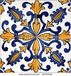 Lisbon azulejo by Goran Bogicevic, via Shutterstock