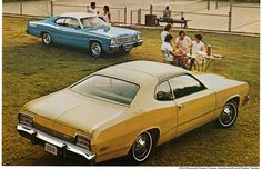 1974 Plymouth Duster Twister and Duster Coupe