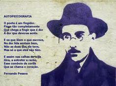 """Poem: """"Autopsicografia"""" (Fernando Pessoa)."""