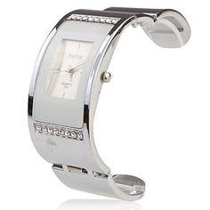 RVS Armbandhorloge - Wit – EUR € 8.63