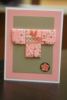 Japanese Paper Quilting Cards- kimono...