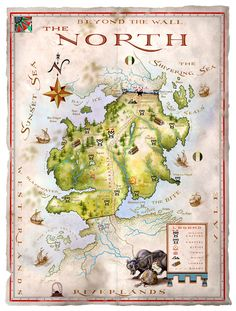 Север