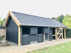 Dream Stables, Dream Barn, Horse Stables, Horse Farms, Horse Shed, Horse Barn Plans, Small Horse Barns, House Makeovers, Barns Sheds
