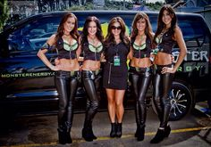 Monster Energy Girls NZ - #HBelite  #NZSGP Brooke, Erin, Tania, Cody with Boss Becks McDonell info@HBelite.com