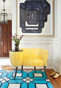 inspirez vous de ces 21 tapis colores pour donner du pep a votre deco