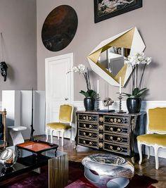 L appartement d'Herve Van der Straeten sur l Ile Saint Louis 9