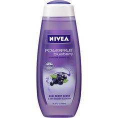 Nivea Powerfruit Blueberry Hydrating Shower Gel, 16.9 oz