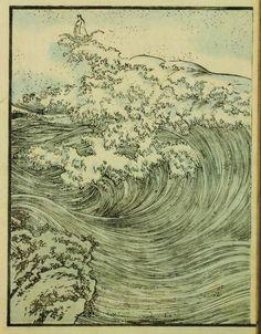 yama-bato: Utagawa Kuniyoshi [Japanese Ukiyo-e Printmaker, Japan Illustration, Botanical Illustration, Japanese Waves, Japanese Prints, Era Edo, 4 Image, Creation Art, Art Asiatique, Kuniyoshi