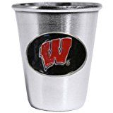 Wisconsin Badgers Shot Glass