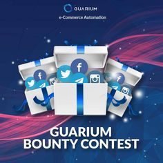 GUARIUM BOUNTY CONTEST Illuminati, Cryptocurrency News, We Can Do It, Together We Can, Crypto Currencies, Marketing, Blockchain, Fun Projects, Free Money