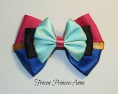 Anna Hair Bow by MickeyWaffles on Etsy