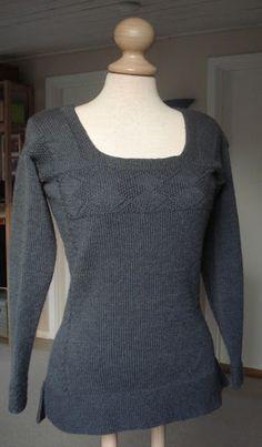 Knit forwards {understand backwards}: Kvindetrøje fra Fyn - 1775 - Woman´s Pullover from Funen