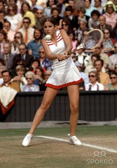 """""""The difference is almost all mental. The top players just hate to lose. I think that's the difference. A champion hates to lose even more than she loves to win."""" ~ Chris Evert"""