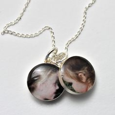 Petite Loved Ones Solid Sterling Silver Necklace. $42.00, via Etsy by dlk designs