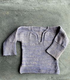 Ravelry: Easy Pullover for Babies, Toddlers and Kids pattern by Purl Soho