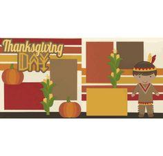 Thanksgiving Day - Native American Boy Page Kit