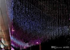 1600 LED Lights 10*5m Curtain Lights, Led Lighting Strings Flash Fairy Festival Party Light Christmas Light Wedding Decor Online with $134.98/Piece on Ok360's Store | DHgate.com