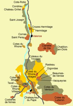 Rhone Wine Valley