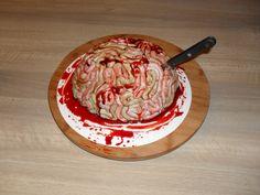 Halloween hersenen taart/ Brain cake