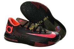 86eb1650e84d Girls Nike KD 6 Meteorology Black Atomic Red-Medium Olive-Fire Red For  Sale