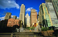 The big and modern São Paulo, #Brazil