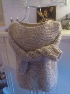 Dorte skappel genser Dear Santa, Knits, Knitting, Easy, Sweaters, Fashion, Moda, Tricot, Fashion Styles
