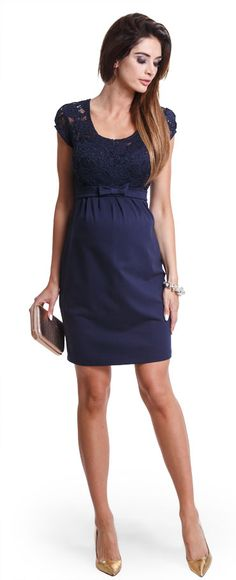 Happy mum - Maternity wear & fashion, dresses, Magic navy dress.
